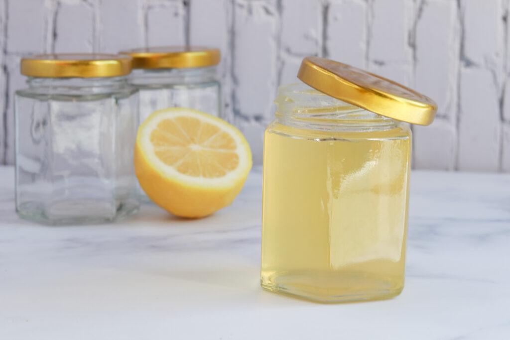 lemon simple syrup